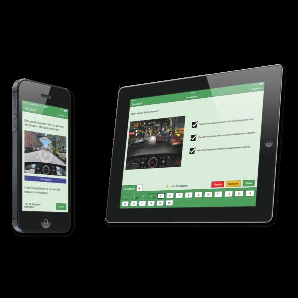 Die Web-App für Fahrschüler aller Klassen