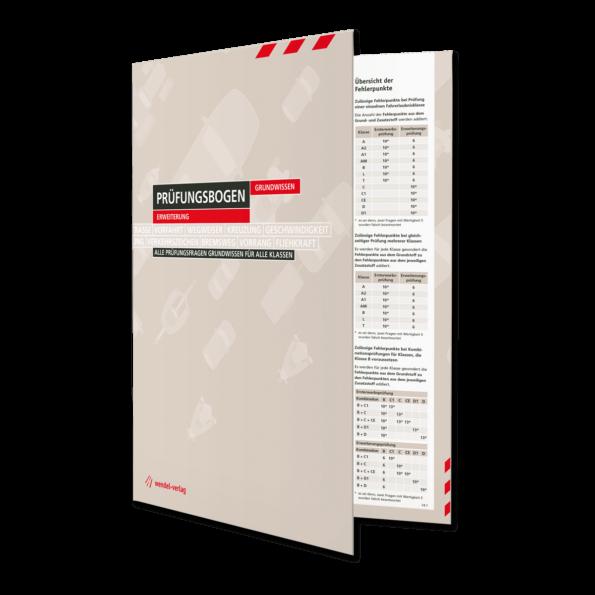 Prüfungsbogen Grundwissen Erweiterung