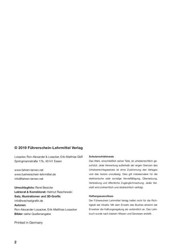 Seite zwei Impressum