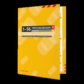 Prüfungsbogen 1-56 für Klasse B