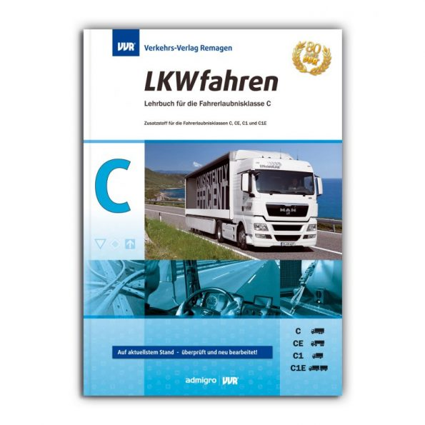 Lehrbuch für Bewerber der Klasse C, C1, CE, C1E, aufgeteilt in 14 Lektionen.