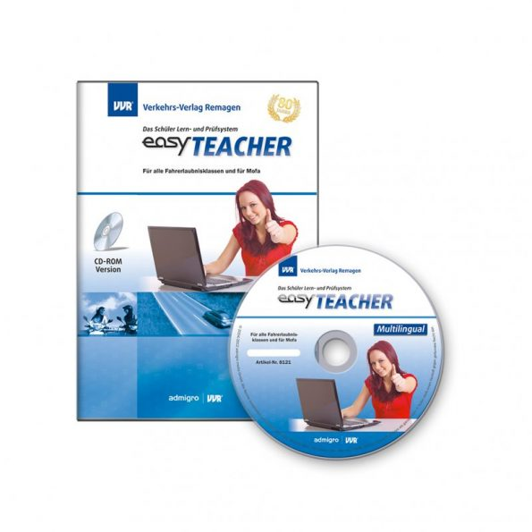 "easyTEACHER ""Multilingual"" CD, alle Sprachen,alle Klassen"